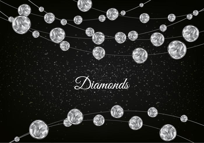 Falling Glitter Confetti Wallpapers Vector Diamond Sparkling Background Download Free