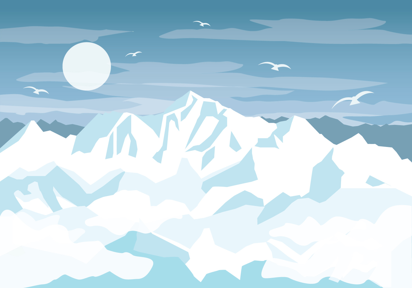 Everest Vector  Download Free Vector Art Stock Graphics