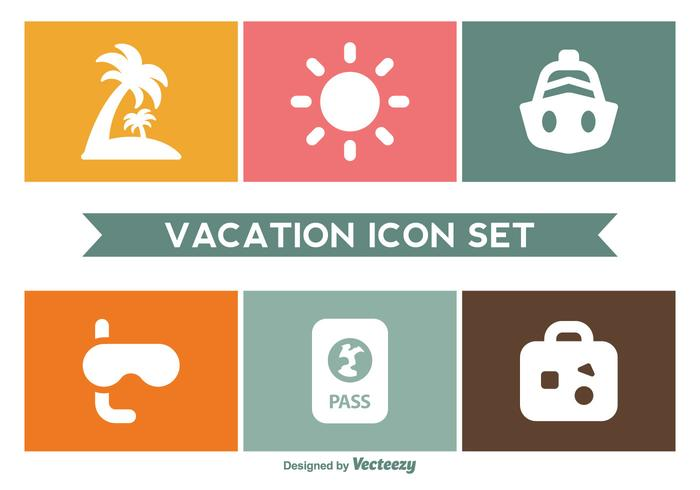 Vacation Icon Set Download Free Vectors Clipart Graphics Vector Art