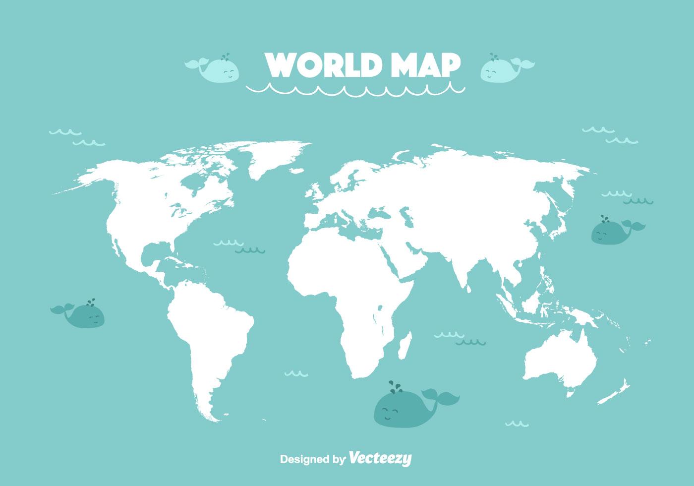 Flat Earth Map Original