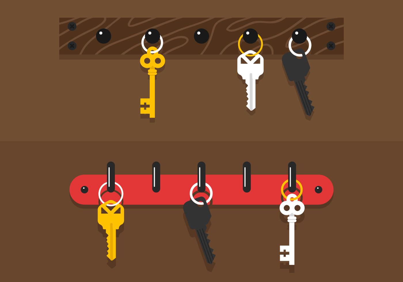 Cute Lock And Key Wallpaper Key Holder Vector Download Free Vector Art Stock