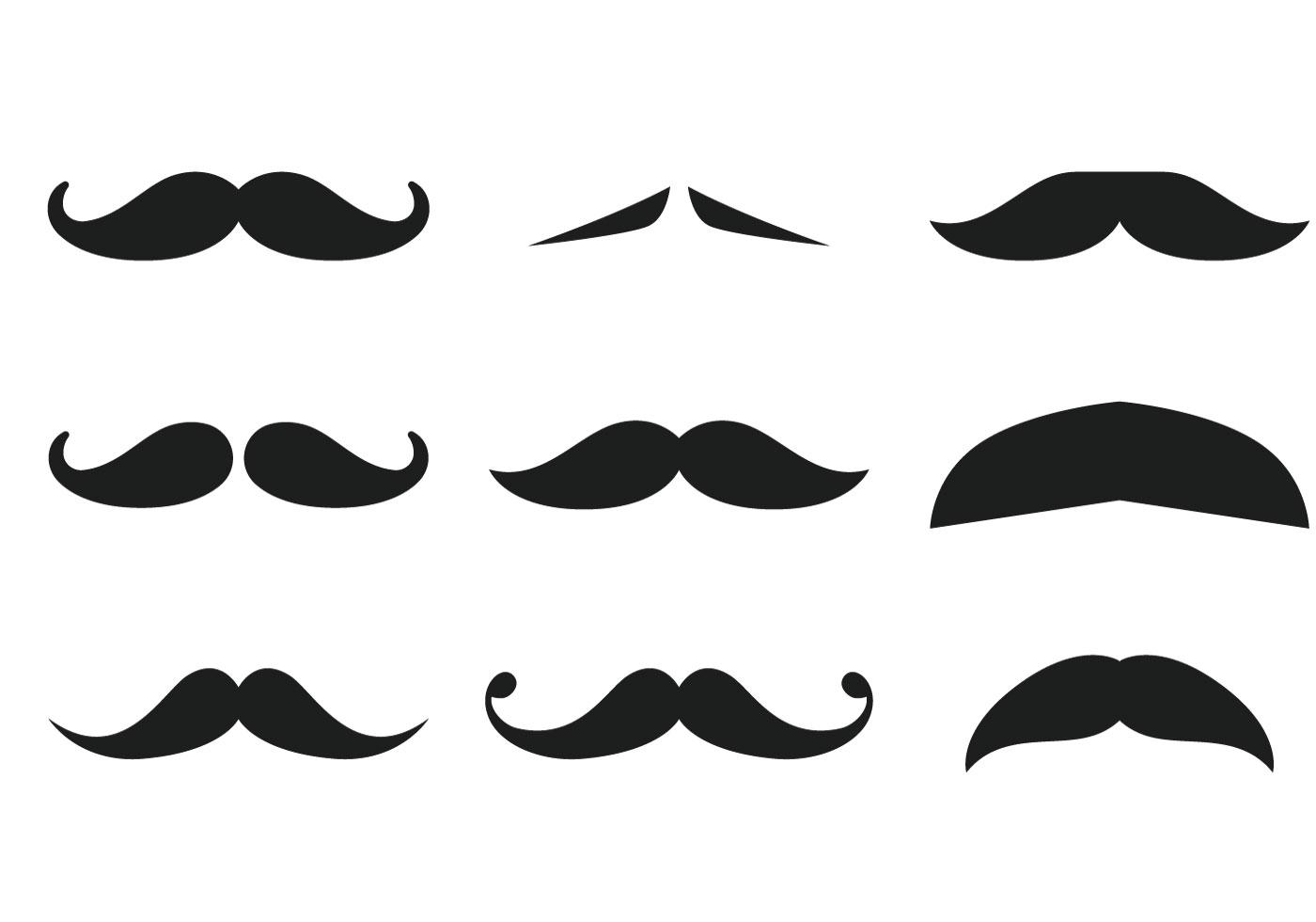 Moustache Free Vector Art