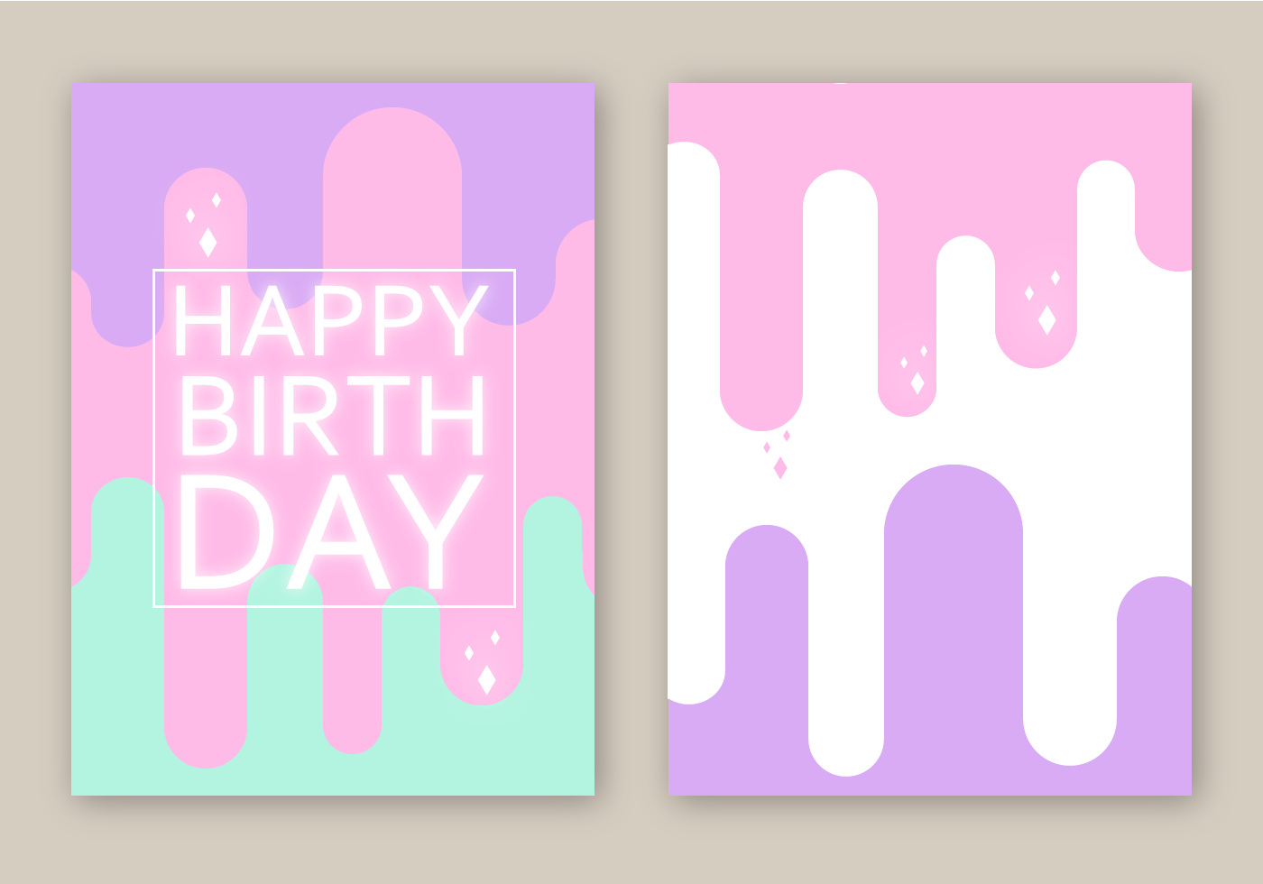 Free Birthday Card Vector Download Free Vector Art