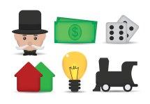 Monopoly Free Vector Art - 4465