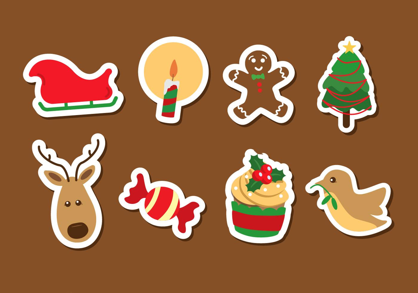 Cute Gingerbread Wallpaper Christmas Icon Vector Download Free Vector Art Stock
