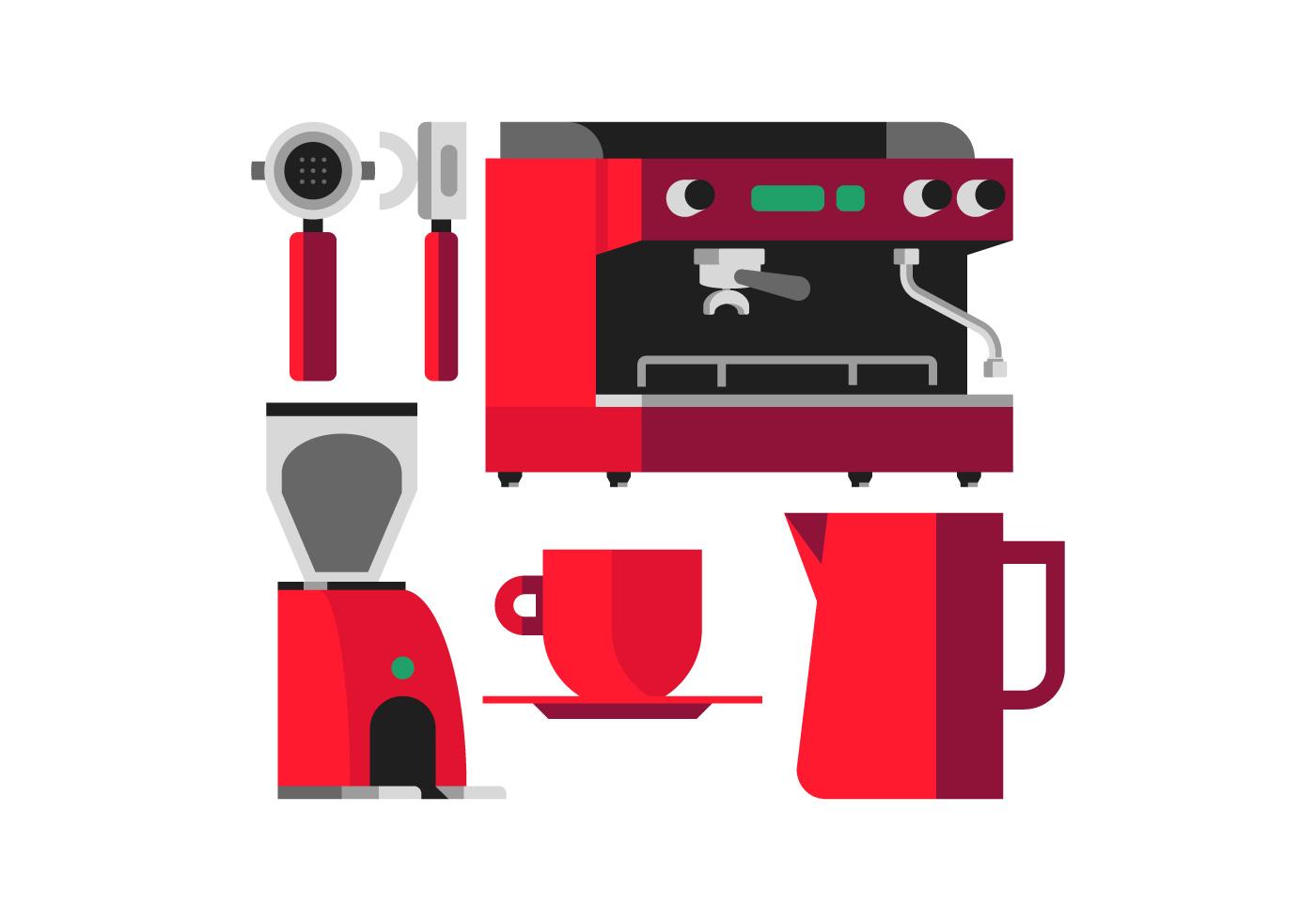 electric grinder kitchen utensil holders vector coffee machine - download free art, stock ...