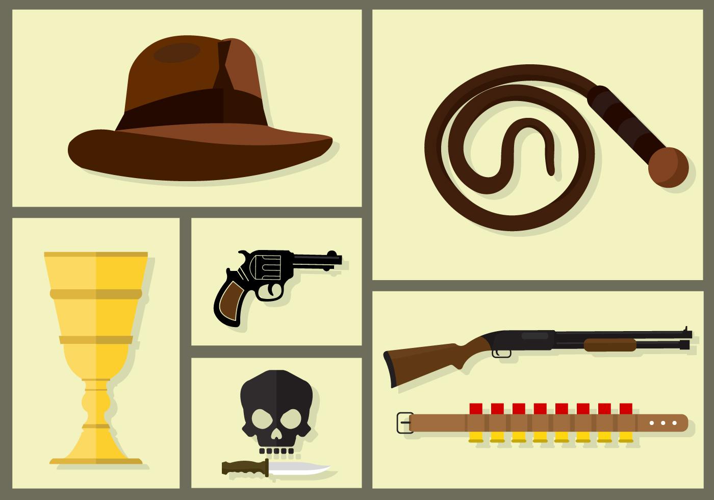 Pistol 3d Wallpaper Indiana Jones Vectors Download Free Vector Art Stock