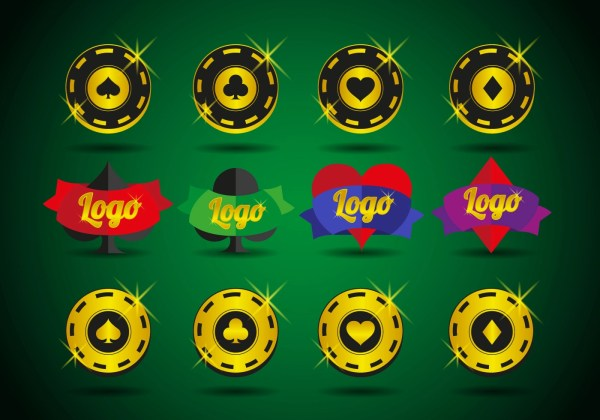 Casino Logos Elements Vector - Free Art