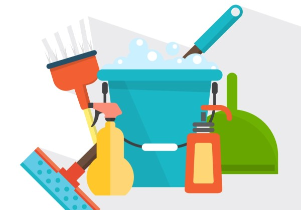 Vector Cleaning Products - Free Art Stock