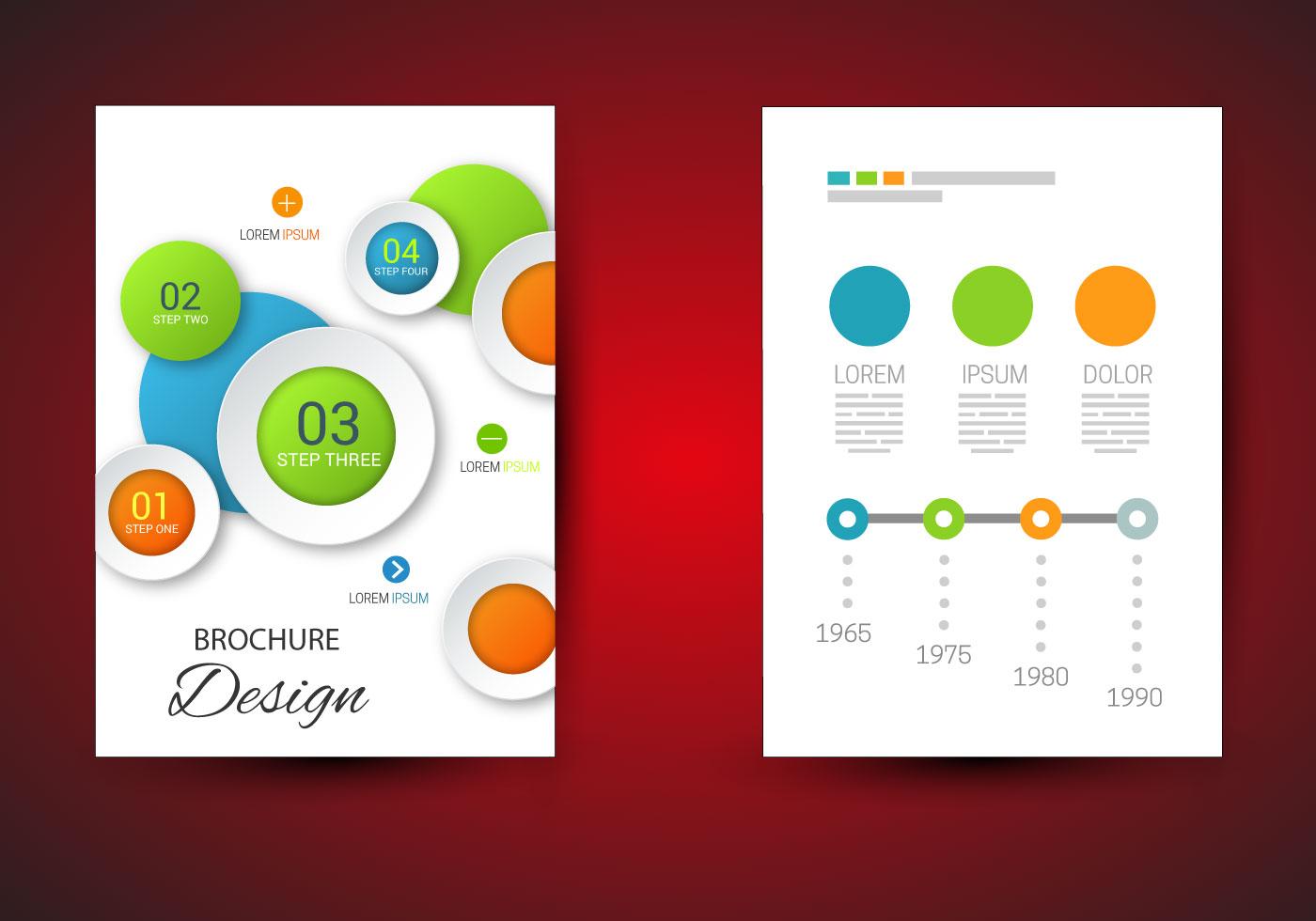 Free Brochure Template Vector  Download Free Vector Art Stock Graphics  Images