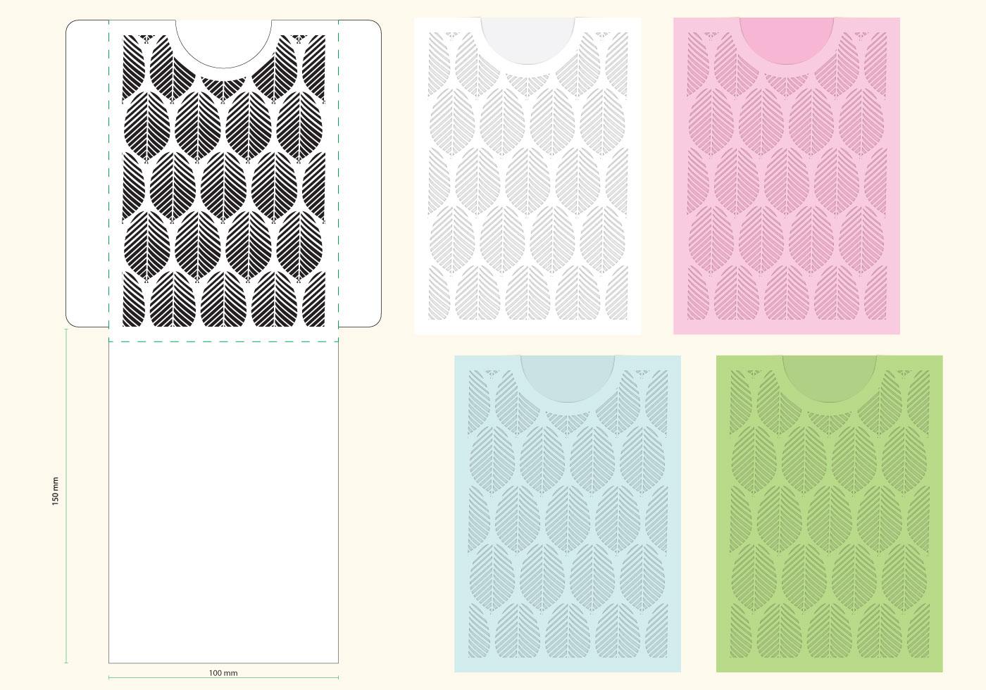 Laser Cut Organic Envelope Template Download Free Vector Art Stock Graphics Amp Images