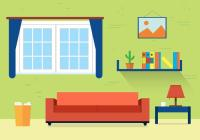 Living Room Vector Illustration - Download Free Vector Art ...