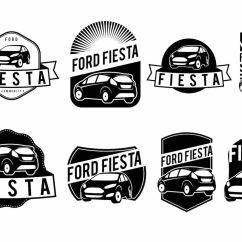 Free Ford Logo 1991 Gmc Sonoma Stereo Wiring Diagram Fiesta Badge Set Download Vector Art Stock