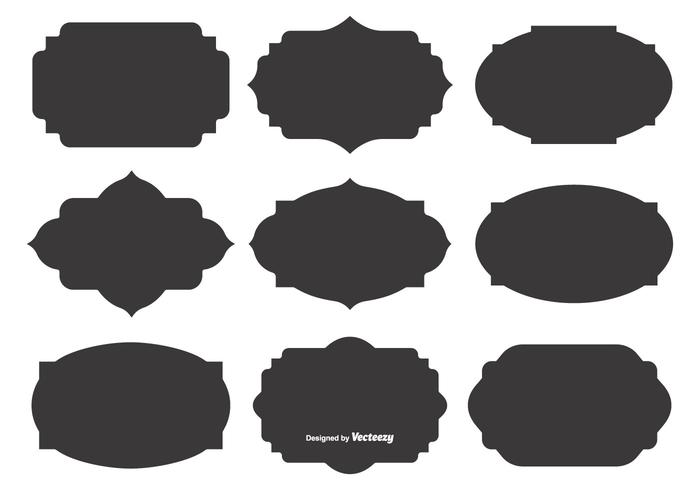 shapes free vector art