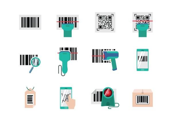 Barcode Scanner Vector - Free Art Stock