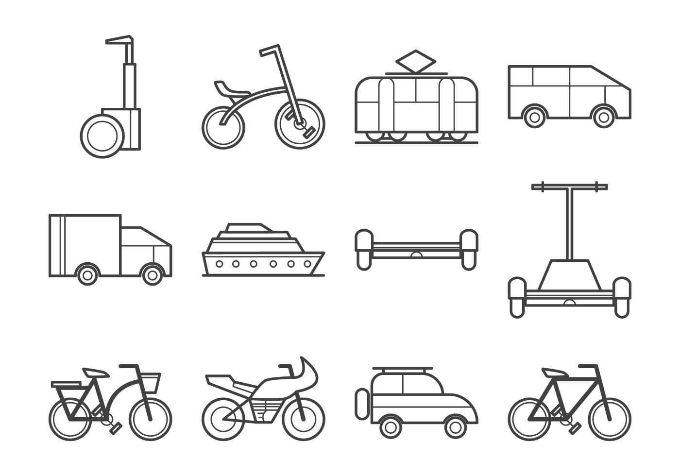 Free Transportation Icon Vector