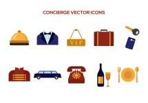 Free Concierge Vector Icons - Art