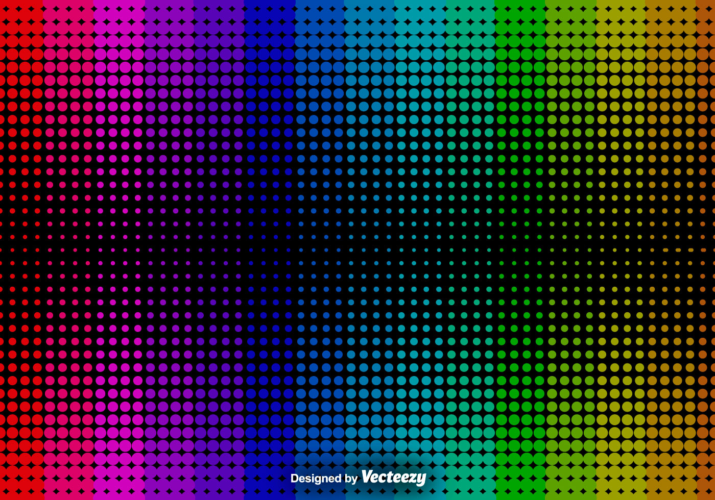 Black And White Dot Wallpaper Abstract Halftone Background Vector Background