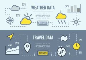 Free Weather And Travel Data Vector Background  Download Free Vector Art, Stock Graphics & Images