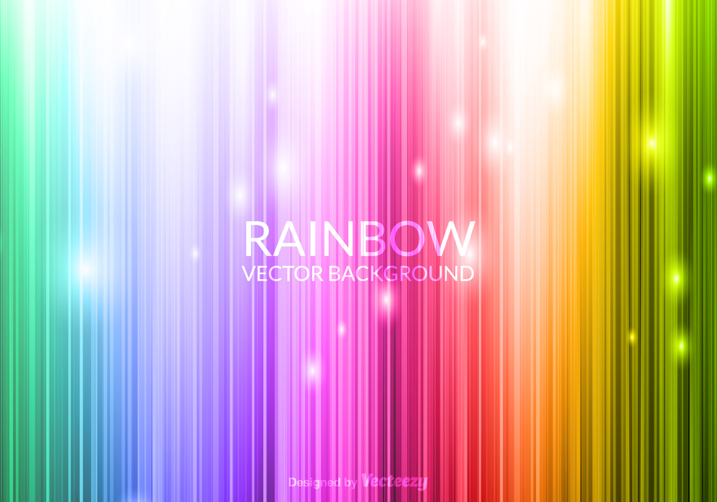 3d Wallpaper Low Bright Vector Glowing Rainbow Background Download Free Vector