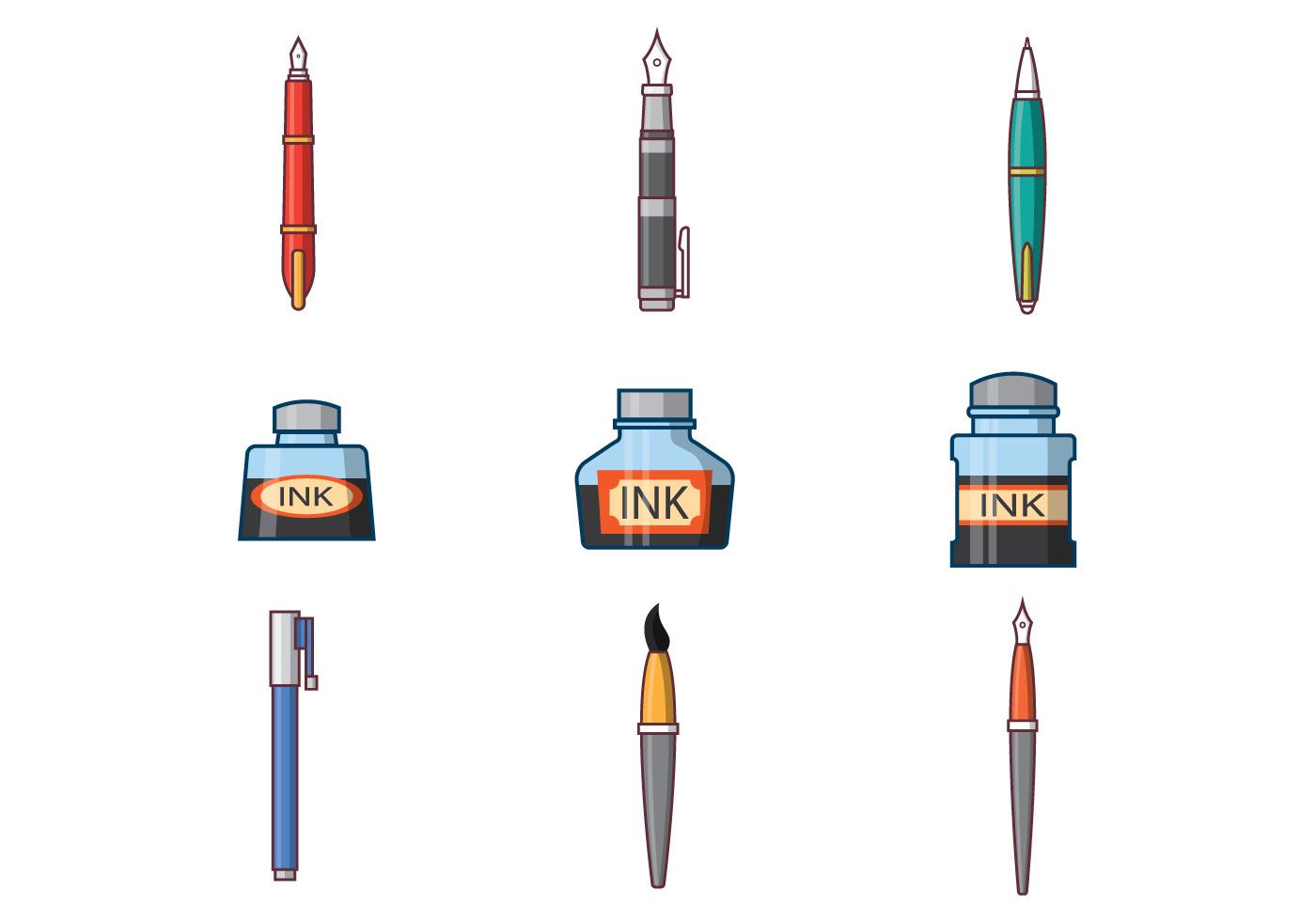 Free Ink Pen Vector