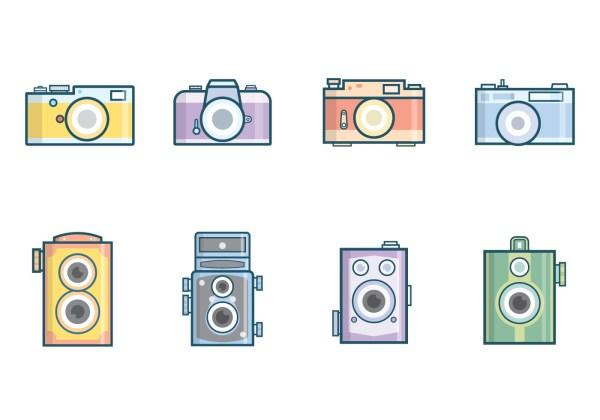 Free Vintage Camera Vector Download Free Vector Art
