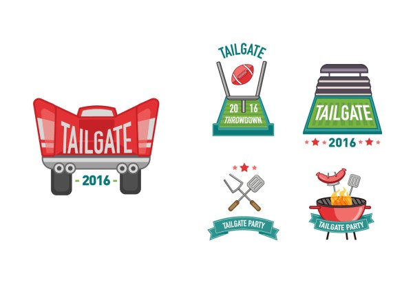 tailgate cliparts - free