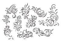 Vintage Floral Design Vector - Download Free Vector Art ...