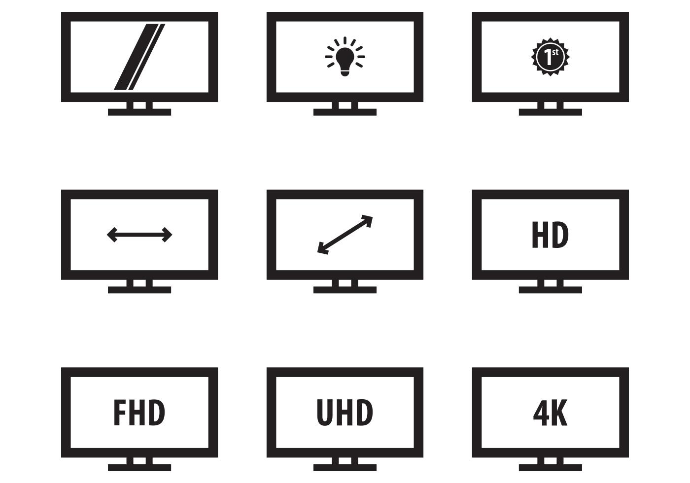 Free Led Icon Monitor