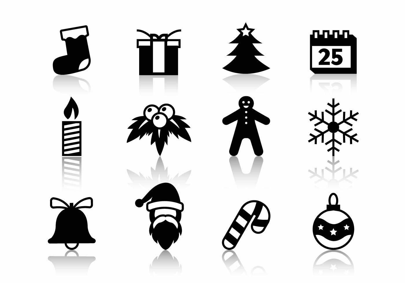 Free Christmas Icons Vector