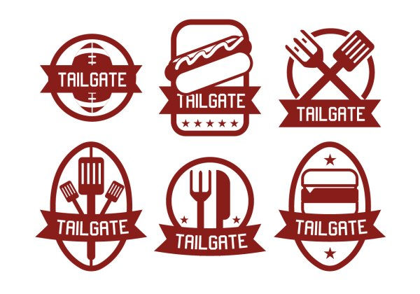 tailgate vector - free