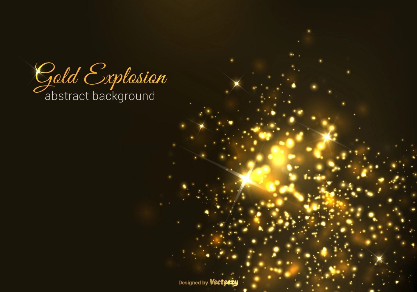 Falling Glitter Wallpaper Gold Explosion Vector Background Download Free Vector