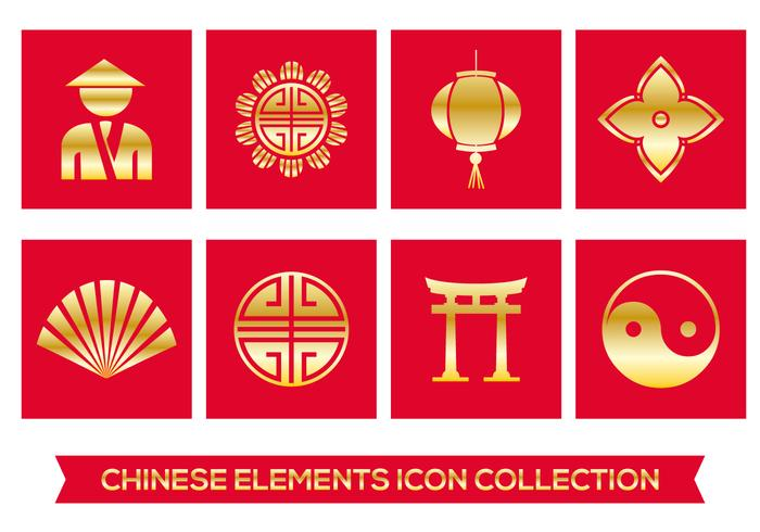 chinese element icons download