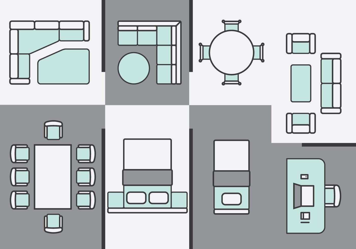 kitchen chair design plans wicker side architecture furniture icons download free vector