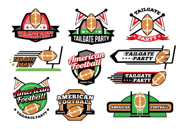 american football tailgate party