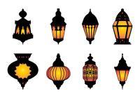 Free Arabic Hanging Lamp Vector - Download Free Vector Art ...