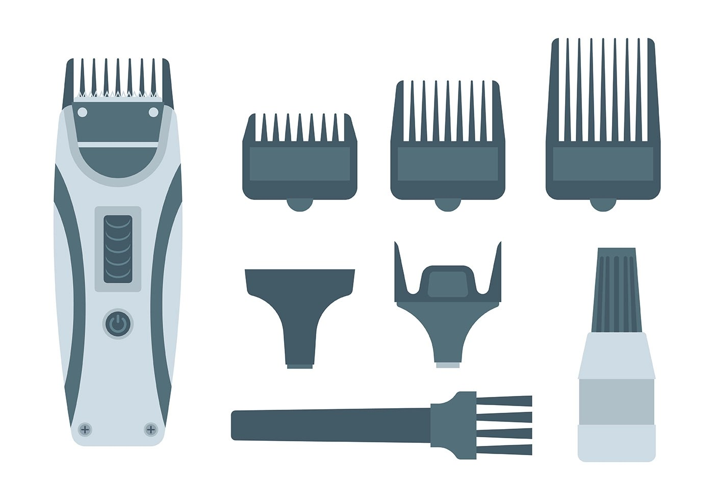 Free Hair Clippers Icons Vector  Download Free Vector Art