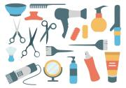 hairdressing salon vector
