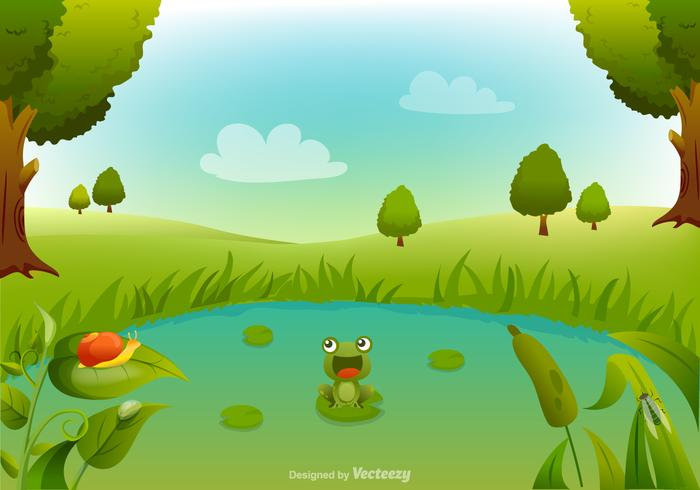 Unique Swamp Illustration Vector 2 Download Free Vector Art