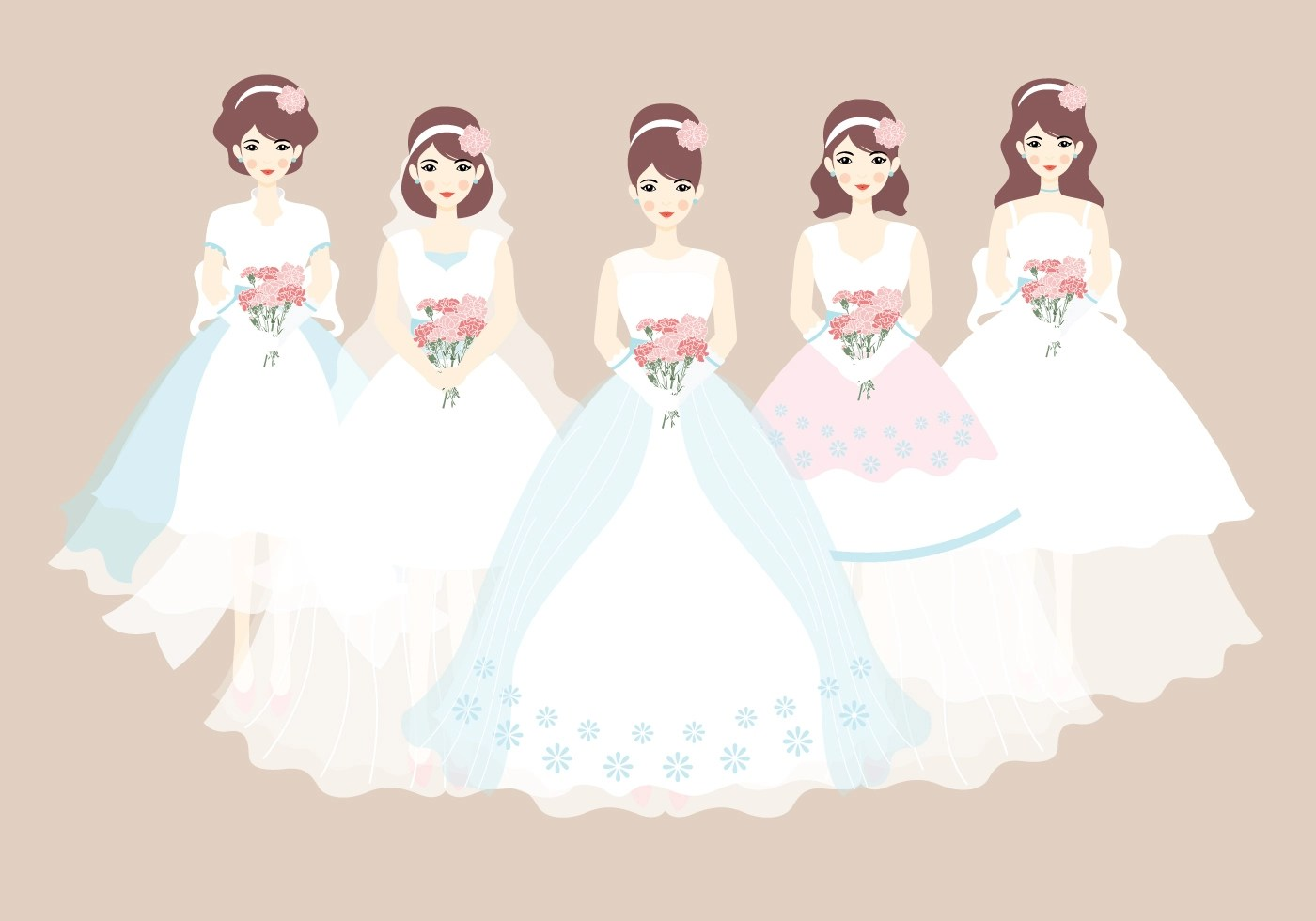 Bride Wedding Dress Vector ~ All the Best Ideas About Marriage