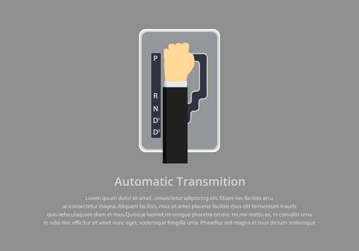 gear shift automatic illustration
