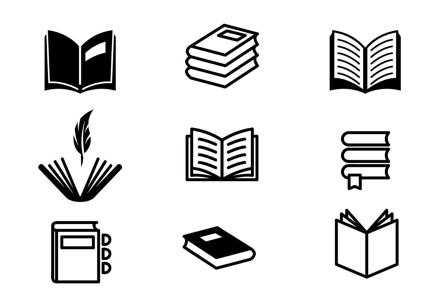 Poem And Book Vectors