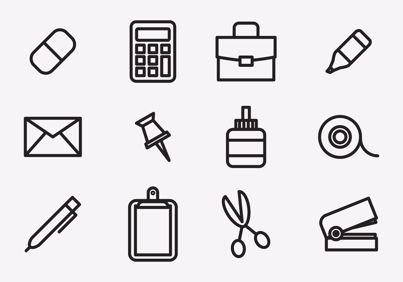 Stationary Icons