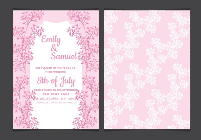 Sample wedding invitation cards in powerpoint newsinvitation wedding invitation card format ppt inspiring stopboris Images