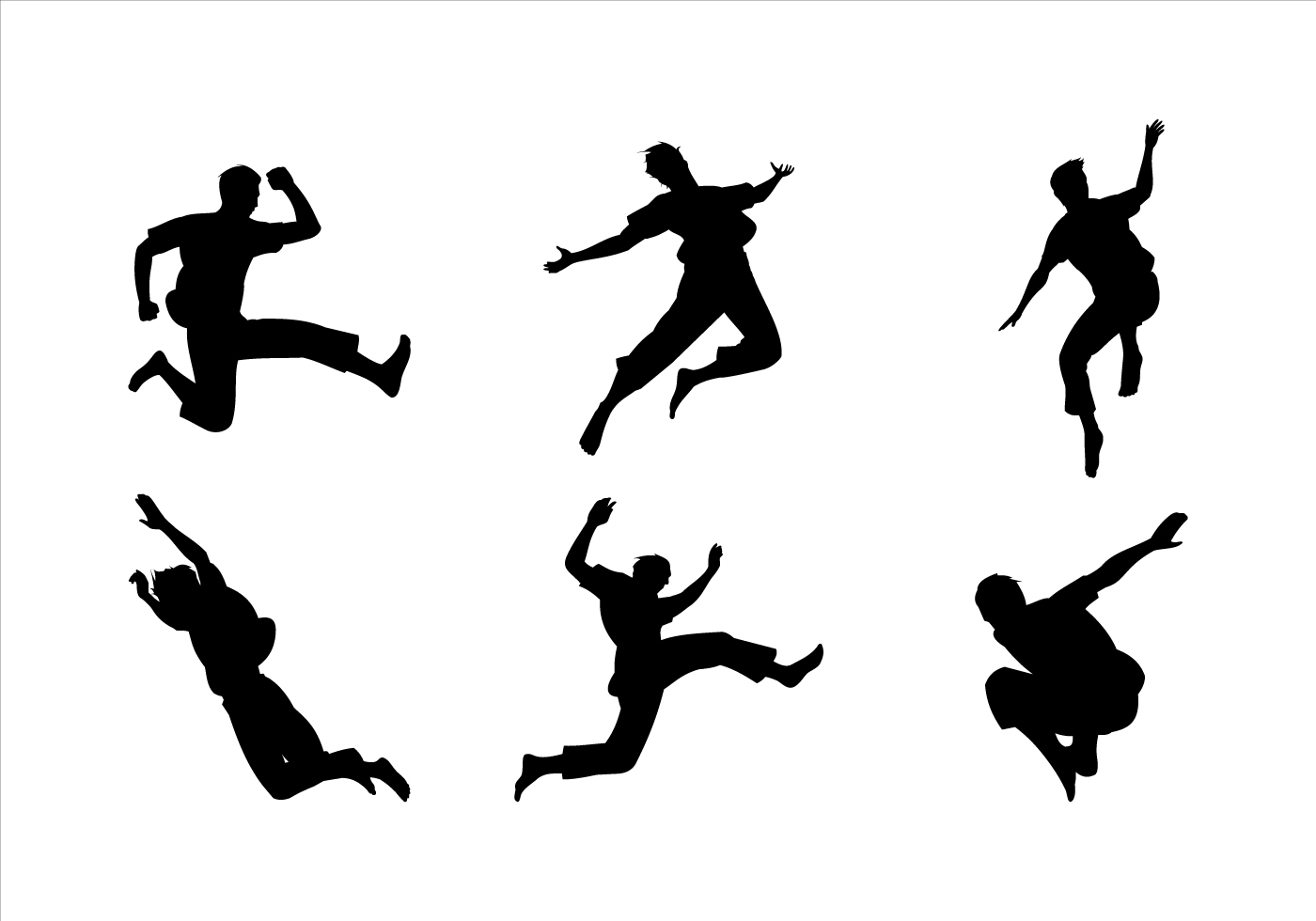 Free Handball Silhouette Vector