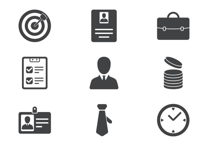 business icons free vector