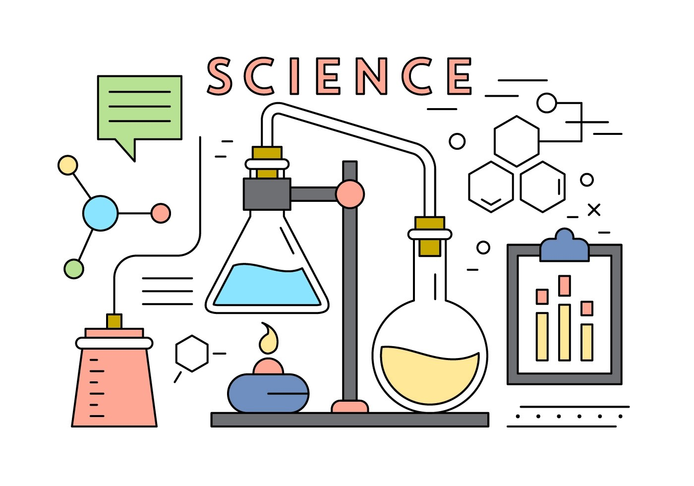 Science Vector Elements