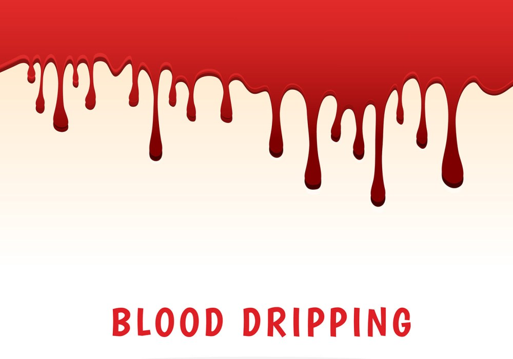 medium resolution of dripping blood clipart