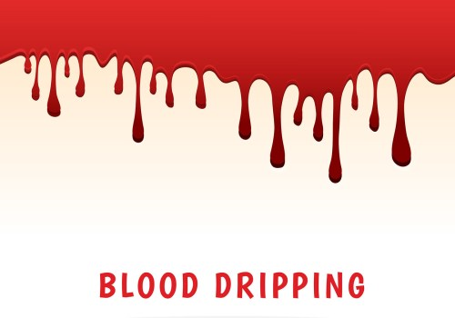 small resolution of dripping blood clipart