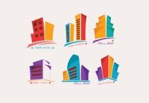 Hotel Logotipo Colorido Del Vector - Descargue Grficos